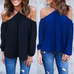 Women Sexy O-Neck Blouse