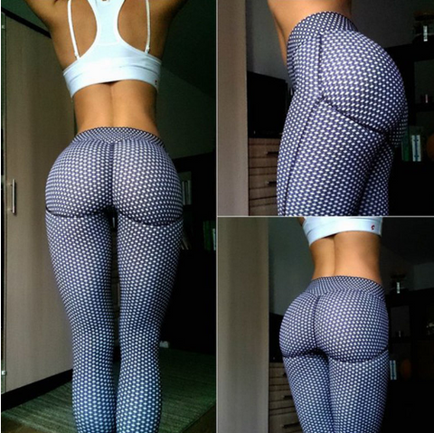 Women Sexy Shaping Hip Yoga Pants -Yoga Pants