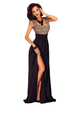 Women Slit Elegant Dress -Women Dress