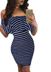 Women Striped Summer Dress