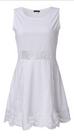 Women Summer Style White Dress