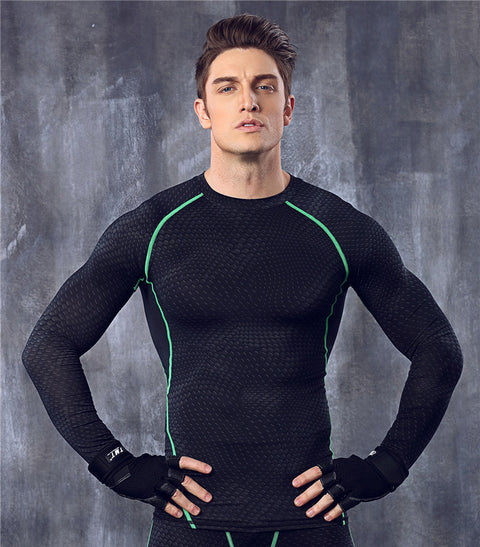 Men Compression Tights Shirt -Men Compression Shirt