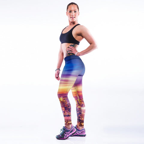 Women 3D Print Yoga Pants -Yoga Pants