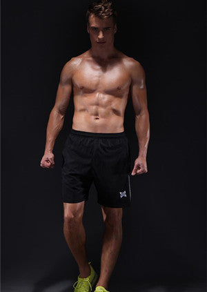 Men Reflective Running Shorts -Mens Shorts