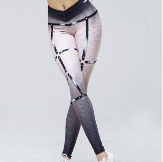 Women 3D Bandage Leggings -women lggings
