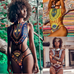 Women African Style Swimsuit -Women Swimsuits