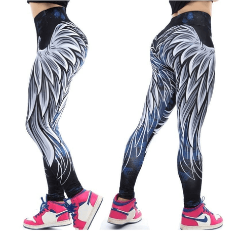 Women Angel Wings Leggings -women legg