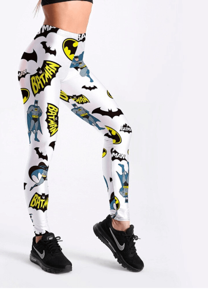 Women Batman Print Leggings -women leggings