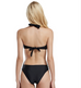 Women Black Halter Cut Out Swimsuit -women swimsuits