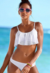 Women Brazilian Ruffle Set Swimsuit -Women Swimsuits