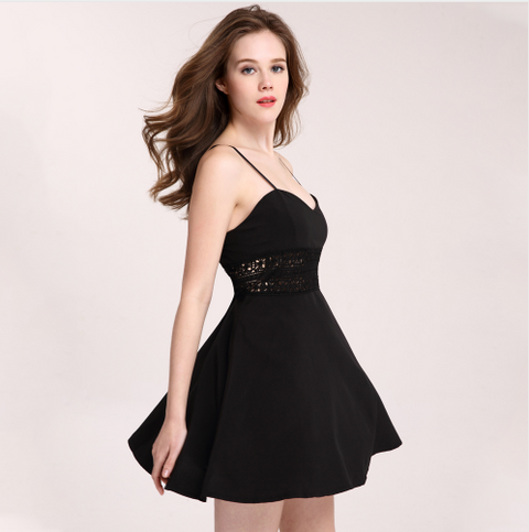 Women Casual V-Neck Beach Dress -Women Dress