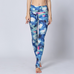 Women Colorful Butterflies Leggings -Yoga Pants