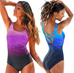 Women Criss Cross Swimsuit -Women Swimsuits
