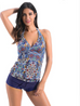 Women Deep V Tankini Swimsuit -Women Swimsuits