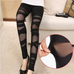 Women Fashion Mesh Leggings -Yoga Pants