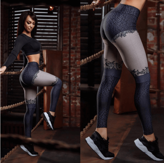 Women Fashion Patchwork Leggings -women leggings