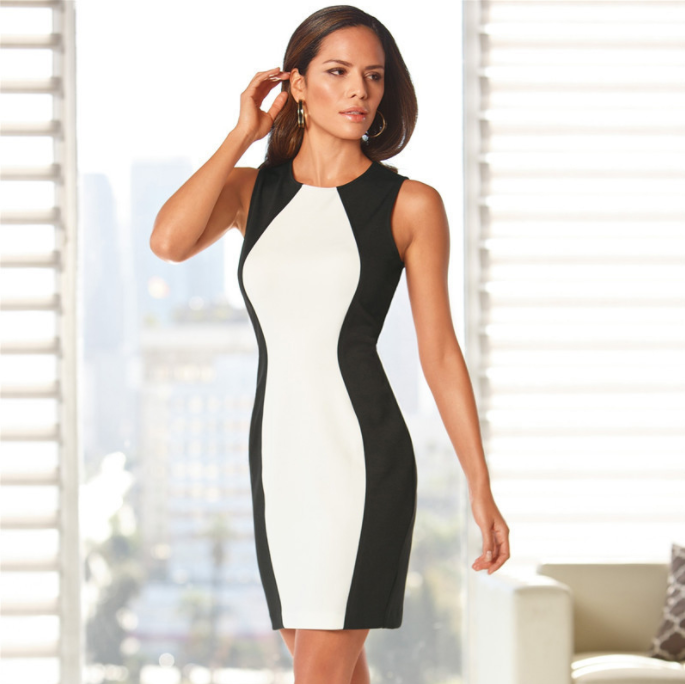 Women Fashion Splice Dress -Women Dress