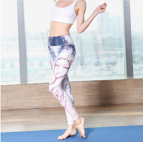 Women Fitness Yoga Pants -Yoga Pants