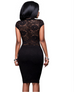 Women Floral Lace Dress -dresses
