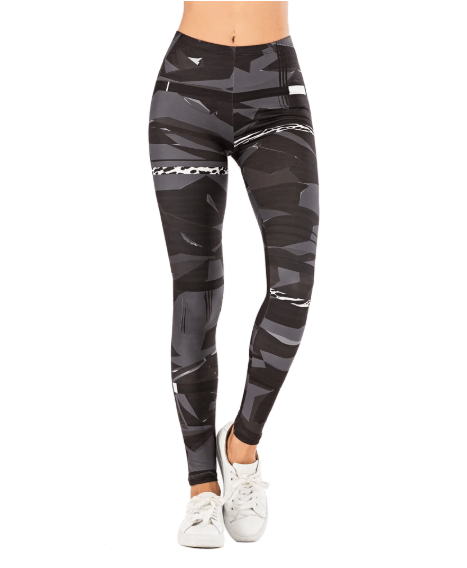 Women Geometric Stitching Leggings -women leggings