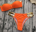 Women Gold Metallic Bordered Swimsuit -Women Swimsuits