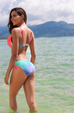 Women Gradient Color Bikini Swimsuit -Women Swimsuit