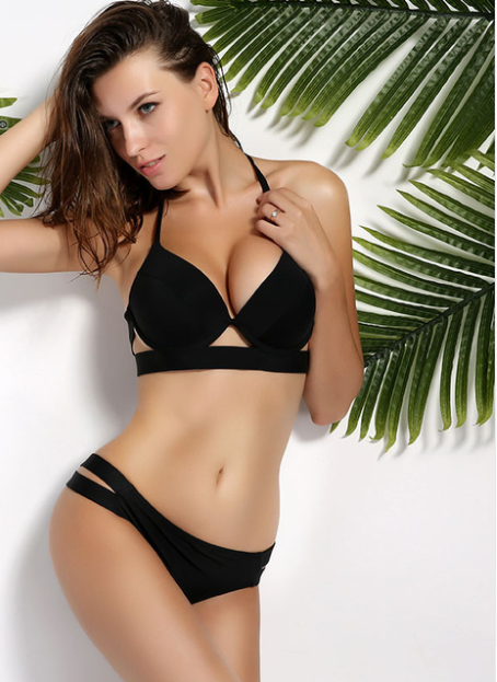 Women Halter Low Waist Swimsuit -women swimsuits