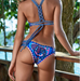 Women High Neck Crochet Swimsuit -women swimsuits
