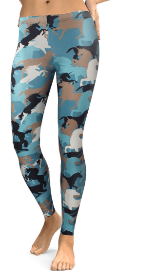 Women Horse Print Leggings -women leggings