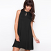 Women Key Hole Dress -dresses