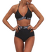 Women Letter Bandage Swimsuit