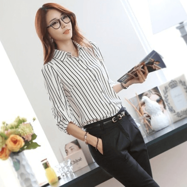 Women Long Sleeve Blouse -Women Blouse
