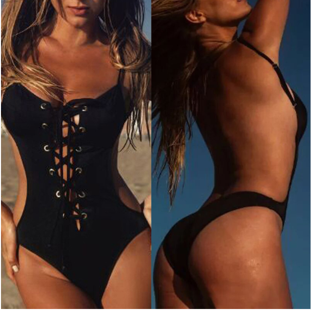 Women New Black Swimsuit -women swimsuits