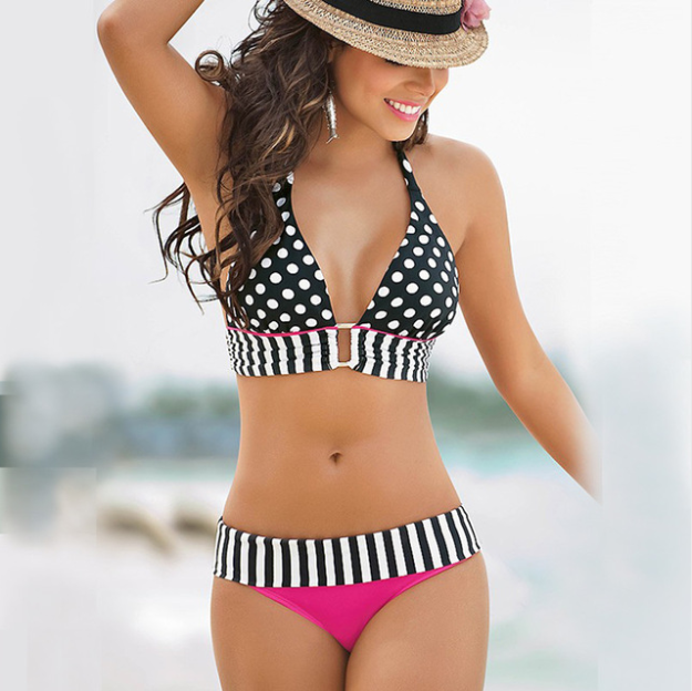 Women New Sexy Stripe Swimsuit -women swimsuits