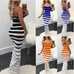 Women New Sexy Striped Dress -women dresses