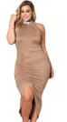 Women Plus Size Elegant Dress -Women Dress