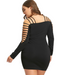 Women Plus Size Ladder Cut Dress -women dresses