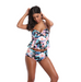 Women Push Up Tankini Swimsuit -Women Swimsuits