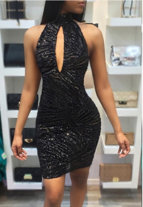 Women See Through Party Dress -dresses