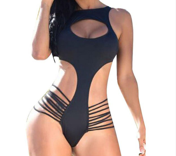 Women Sexy Halter Push Up Swimsuit -women swimsuits