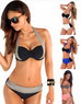 Women Sexy Patchwork Swimsuit -women swimsuits