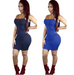 Women Sexy Strapless Dress -women dress