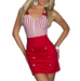 Women Sexy Striped Dress -Women Dress