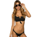 Women Solid Bikini Swimsuit -Women Swimsuits