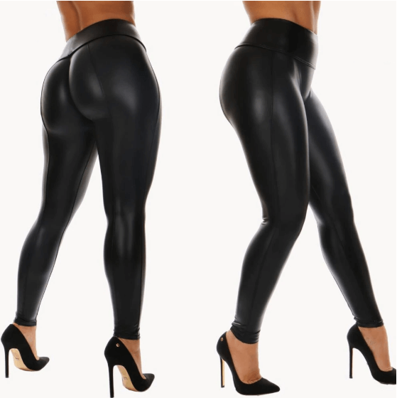 Women Stretch Leather Leggings -women leggings