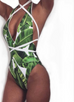 Women Tree Print Swimsuit -women swimsuits