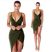 Women V-Neck Party Dress -Women Dress
