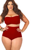 Women Vintage Plus Size Swimsuit -women swimsuits