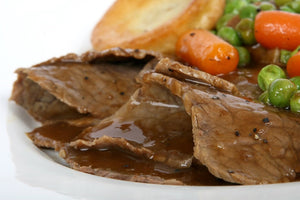 Roast Beef + Gravy Party Package PLEASE CALL STORE FOR PRICING: (204) 320-9834.