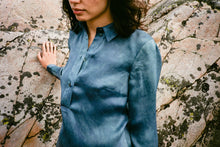 Lina Hand Dyed Silk Shirt